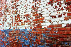 Paint Chips and Brick