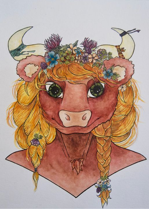 Highland Cow - Darcy Marie Melton