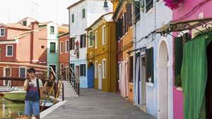 Colourful Burano