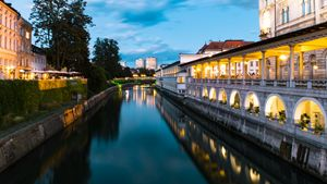 Ljubljana,Bridge