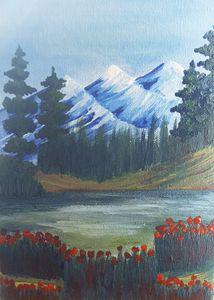 Mini Canvas Painting