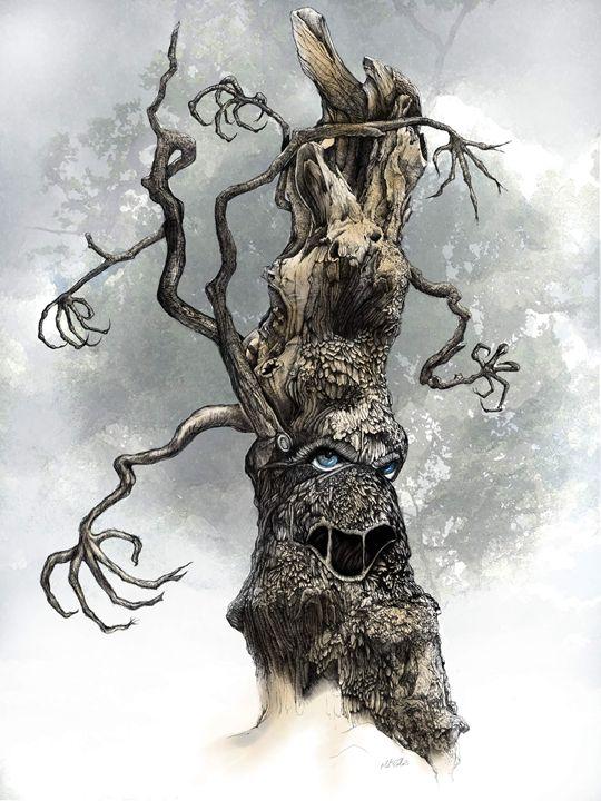 Enchanted Tree - Mark Collins Art