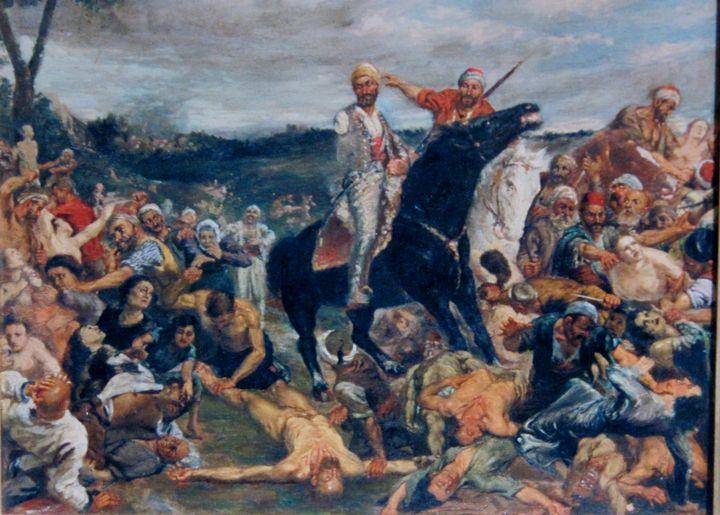 Memories of the Armenian Genocide - Agemian paintings