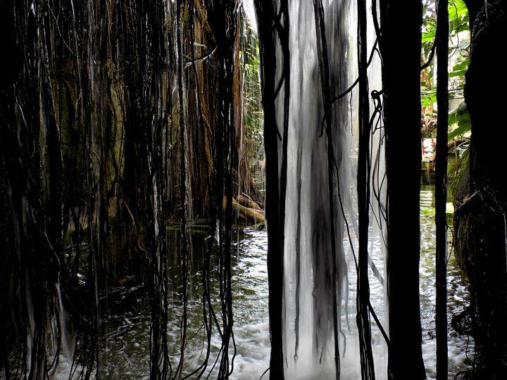 Behind the Waterfall - Saraphim Gates