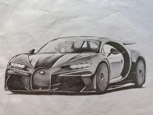 Bugatti Chiron sport 300