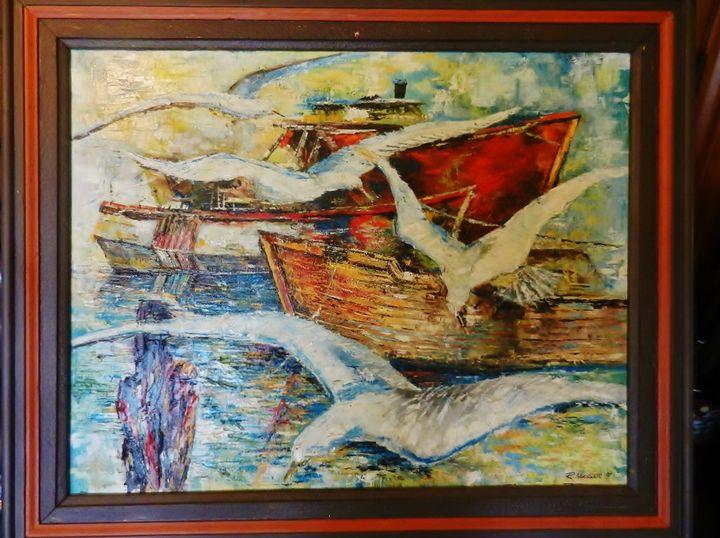 Seagulls Escort - Begaris_MacIsaac Gallery