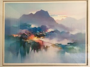 """Morning Mist"" H. Leung Limited Edit"