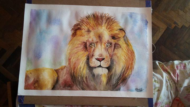 The brave lion - Dianushka