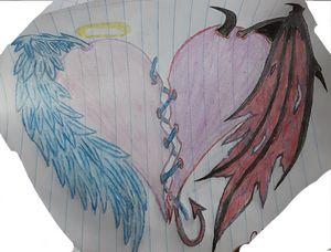 Heart good vs evil