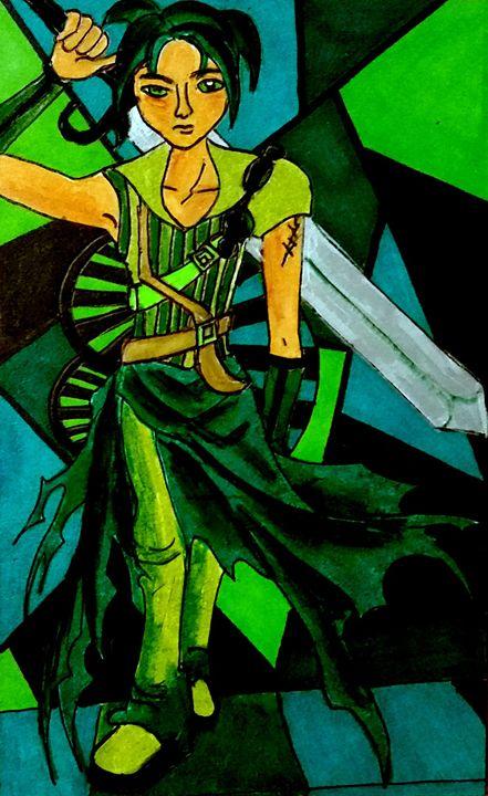 Midori (Green) - Jazzy Bear Arts