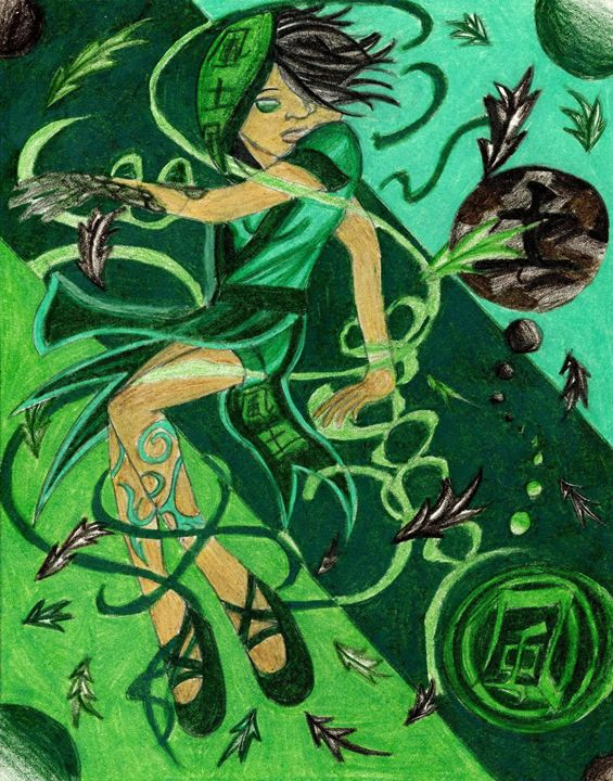 Princess of Earth - Jazzy Bear Arts