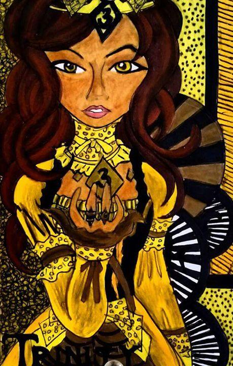 Queen Trinity. - Jazzy Bear Arts