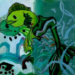 Fishes of Pisces - Jazzy Bear Arts