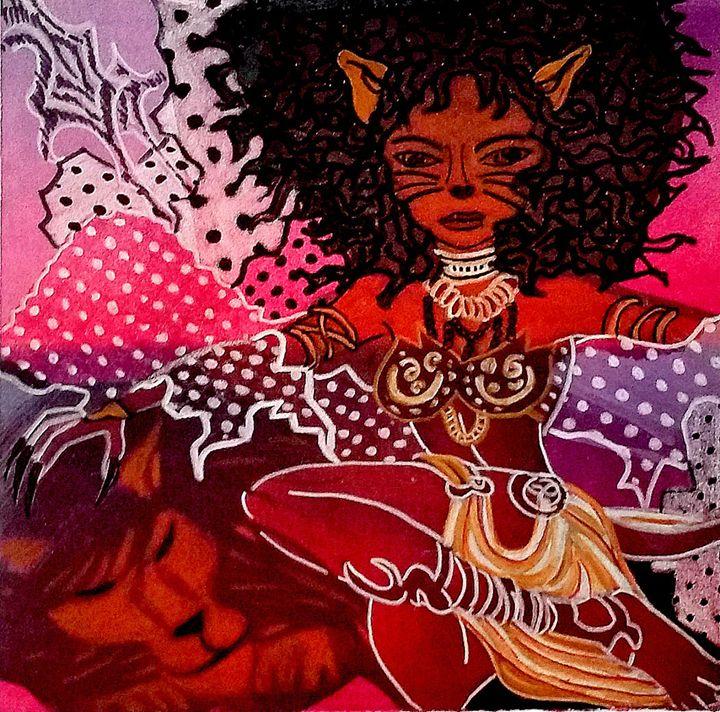 Queen Leo - Jazzy Bear Arts