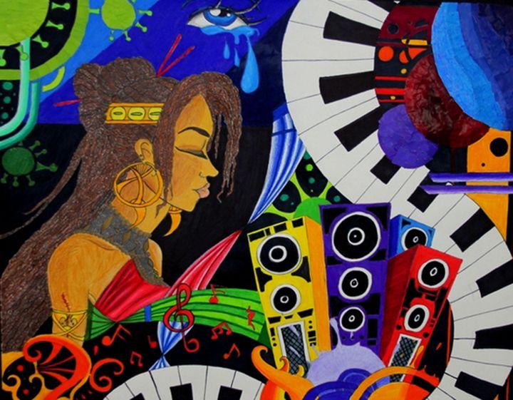 Princess of Music - Jazzy Bear Arts