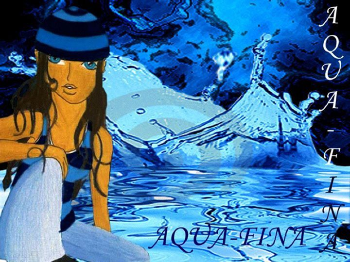 Aquafina - Jazzy Bear Arts