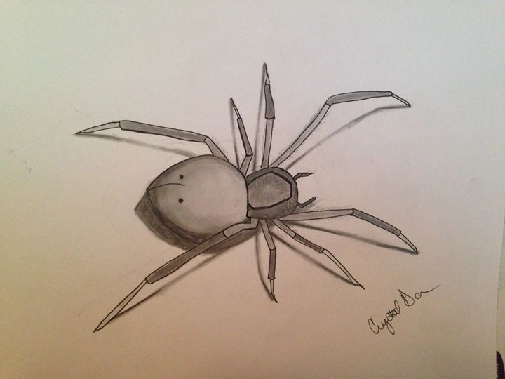 Spider - Crystal Gannon designs