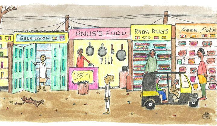 Anus's Food - Bruco Designs