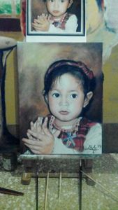 my sister portrait