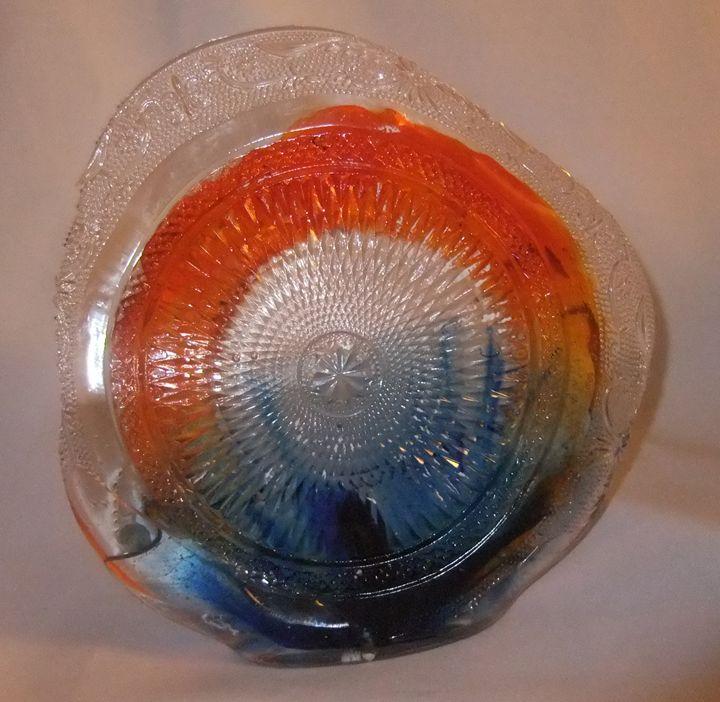 lensform 6 (epoxy resinart) - Resinart Albert Roos