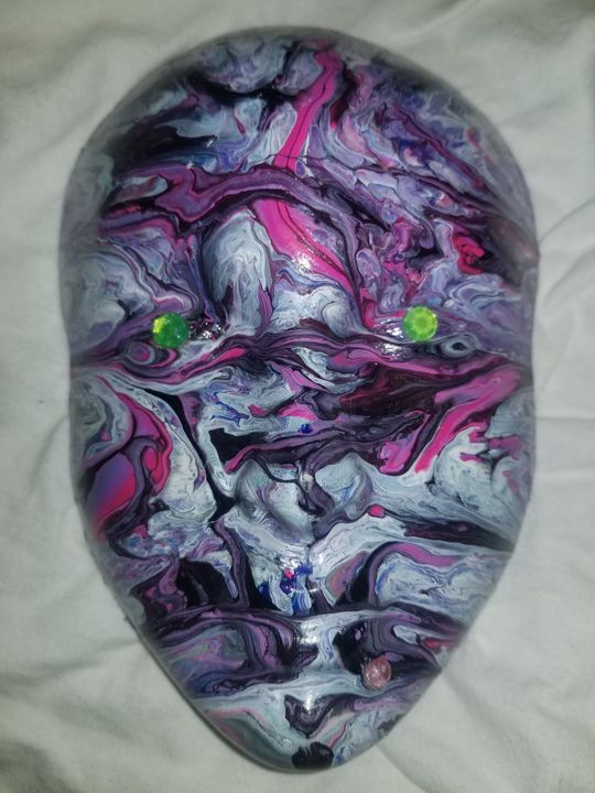 Dripped painting mask - MarasWorld Inc.