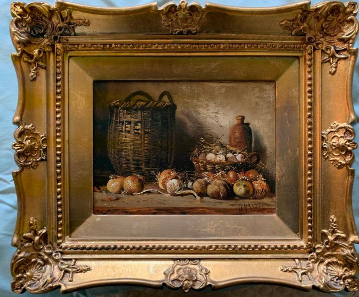 basket of vegetables by M. Afrazi - PaintingsByMiki