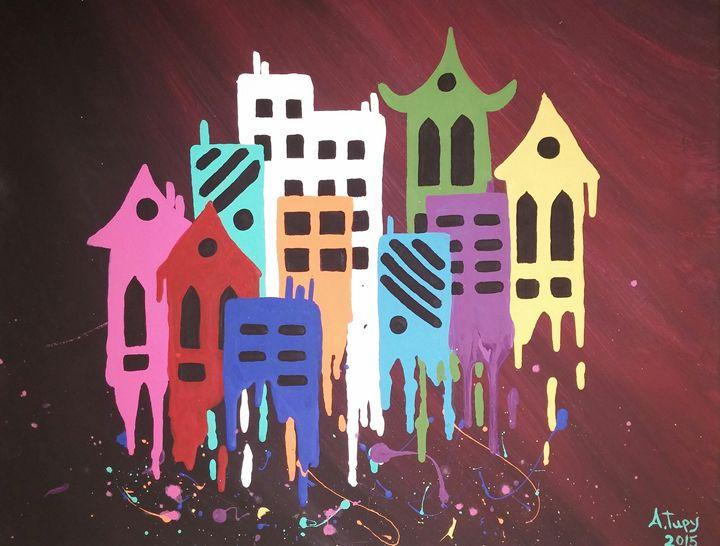 City of color - Alison Tupy
