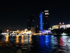 Grand Rapids Michigan at Night