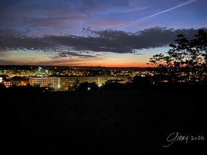 Grand Rapids City Lights at Night
