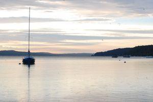 Sailboat on Crystal Lake
