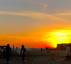 Surfing is Rad Sunset Print