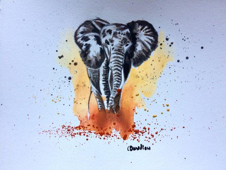 Une mémoire d'éléphant - Catherine Donadieu