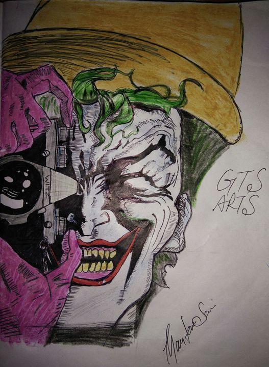 Smile like joker - GTS Arts