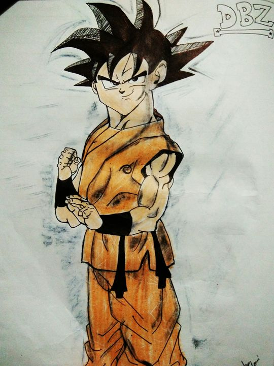 Child mode goku - GTS Arts