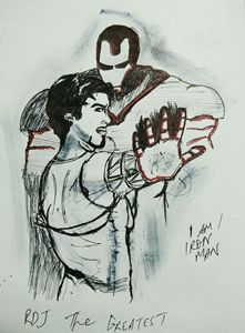 Tony is iron man - GTS Arts