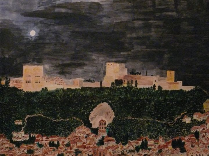 Alhambra at night - Nas's Gallery
