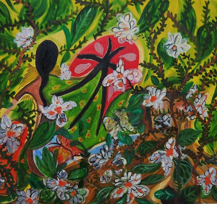 Radha waits - Nas's Gallery