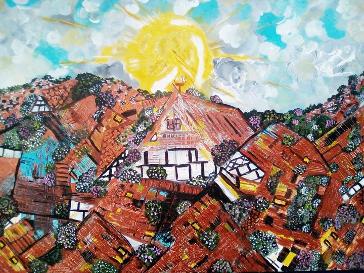 Rooftops in Alsace - Nas's Gallery