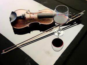 violen and wine