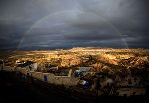 rainbow ower goreme