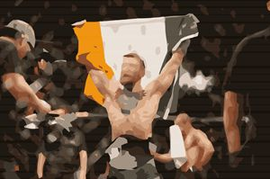 Connor Mcgregor Champion - Art in Sports