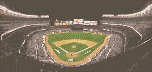 Yankee Stadium Digital Painting