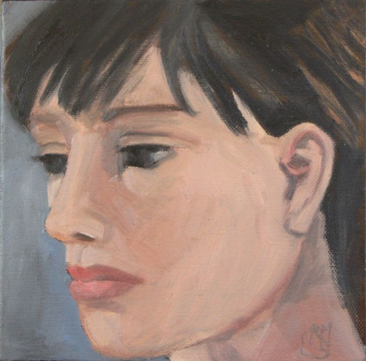 Oil on Canvas - nicole-legroumellec. - Nicole Le Groumellec