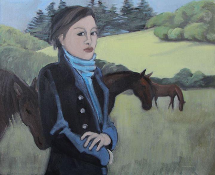 chevaux - nicole-legroumellec.fr - Nicole Le Groumellec