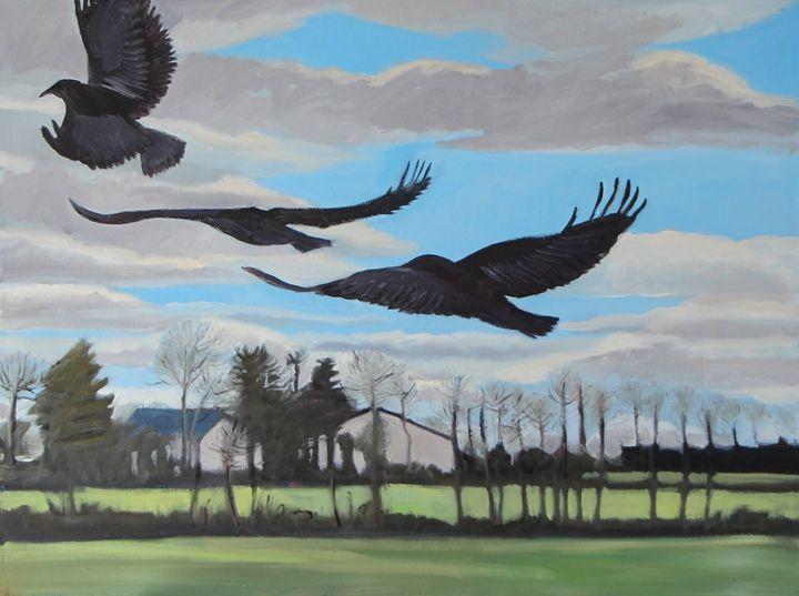 Oil on Canvas - Nicole Le Groumellec - Nicole Le Groumellec