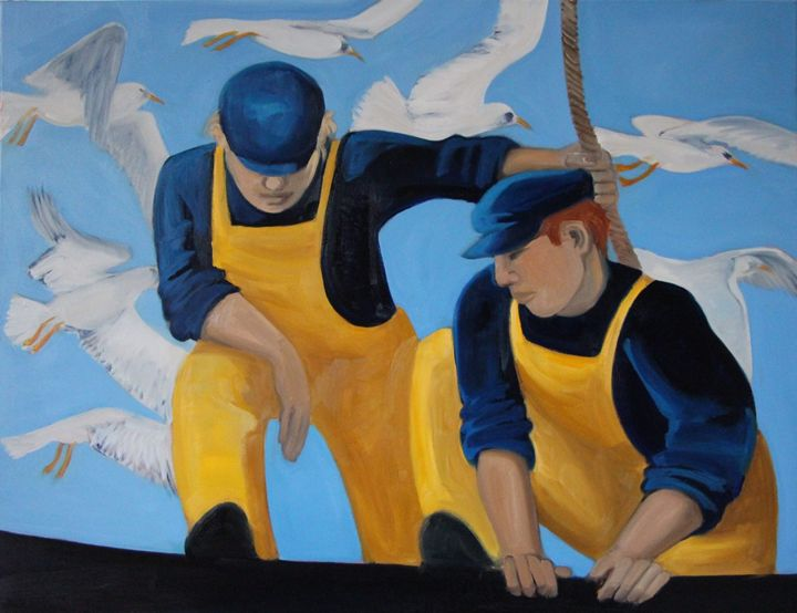 Original Oil on Canvas - Nicole Le Groumellec