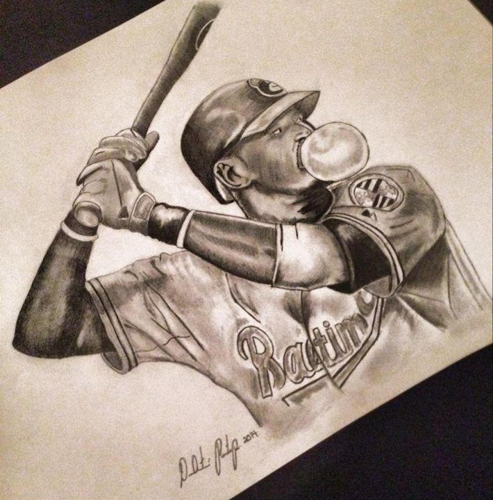 Baltimore Orioles Adam Jones - DeAunte Printup