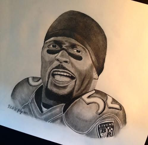 Baltimore Ravens Ray Lewis - DeAunte Printup