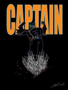 Captain Falcon : Neon Style