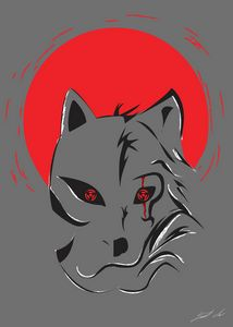 Anbu Wolf Portrait
